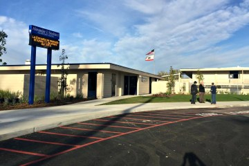An image of Stoddard Elementary School in the Anaheim Elementary School District