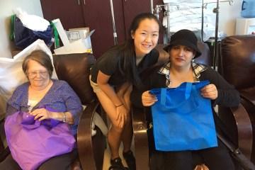 Marina Key Club President Melissa Soong