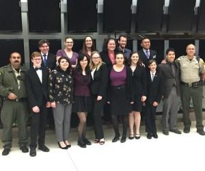 PCHS mock trial team