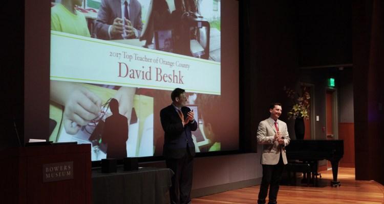 Parenting OC honors its top teacher at a reception