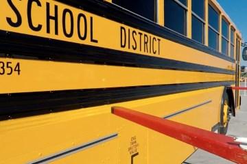 Side of school bus