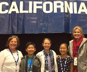 Participants from the National History Day-California competition
