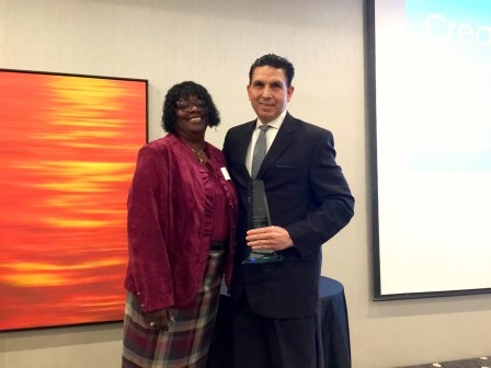 Dr. Al Mijares honored at the Healthy Organizations Awards Breakfast