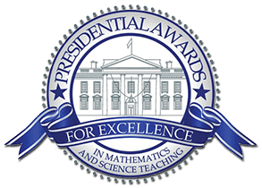 Presidential Awards for Excellent in Mathematics and Science Teaching logo
