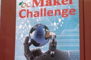 ocMaker Challenge sign