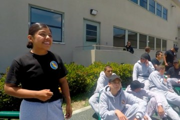 Students at Sunburst Youth Academy