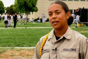Sunburst Youth Academy cadet