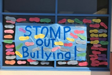 Stomp Out Bullying sign