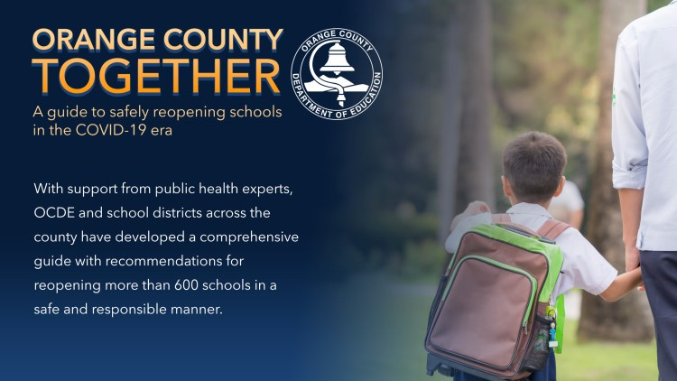 Orange County Together graphic that reads: