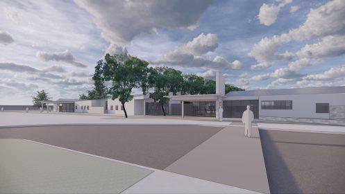 Community School No. 9 rendering