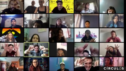 Participants in video chat