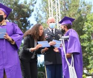 Sunburst Youth Academy 2021 graduation