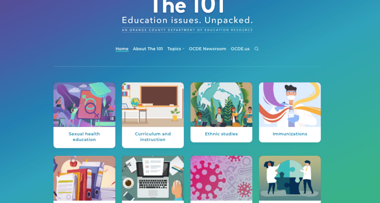 The 101 website