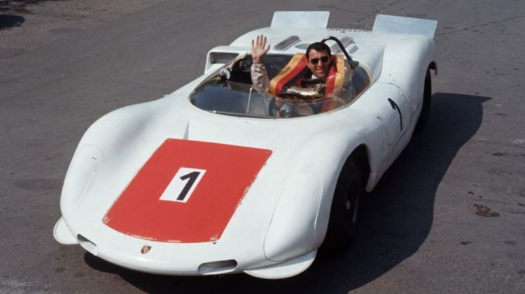 Gerhard Mitter, Porsche 910/8 Bergspyder, 1968, Porsche AG