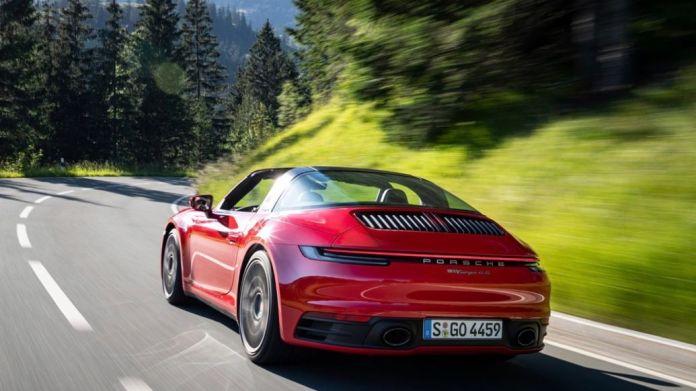 911 Targa 4S, 2020, Porsche AG