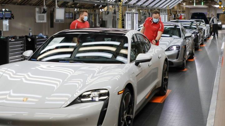 Production, 2020, Porsche AG
