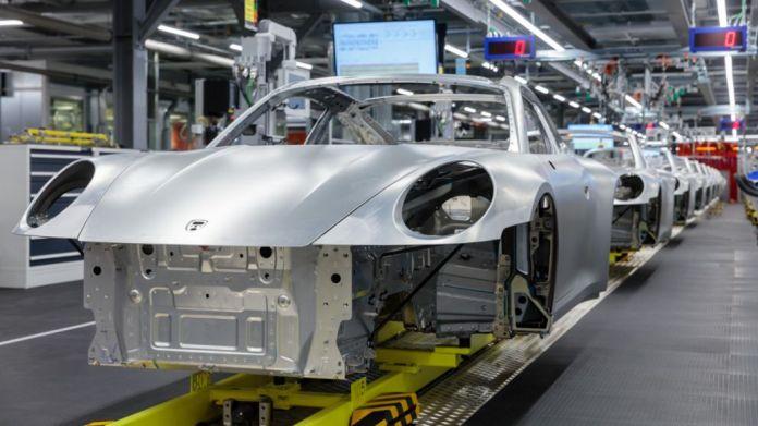Factory, Zuffenhausen, 2020, Porsche AG