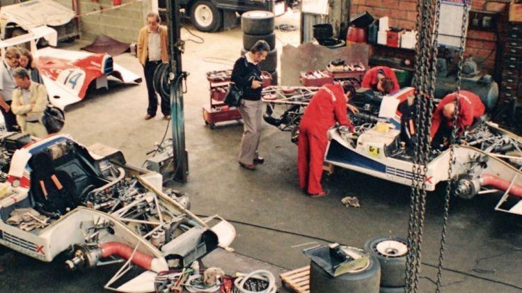 Garage in Teloché, 1979, Porsche AG