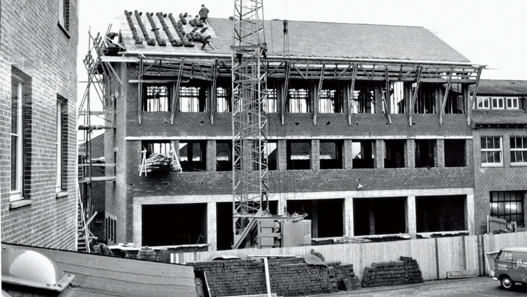 Werk Zuffenhausen, 1963, Porsche AG