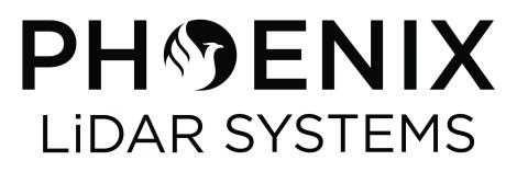 Main Logo Stacked Black - Phoenix LiDAR Systems