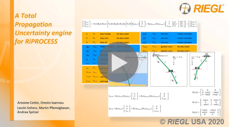 RIEGL's Scientific Presentations Now Online