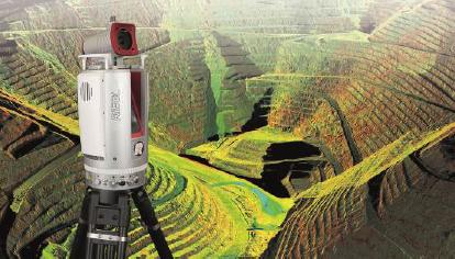 3D terrestrial laser scanner