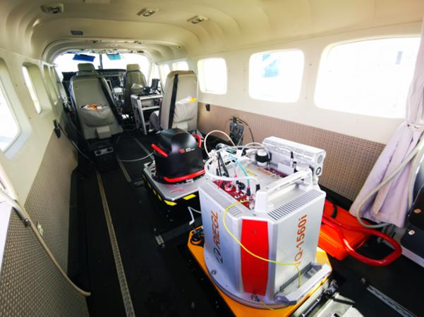 RIEGL VQ-1560i mounted into Cessna Grand Caravan 208B