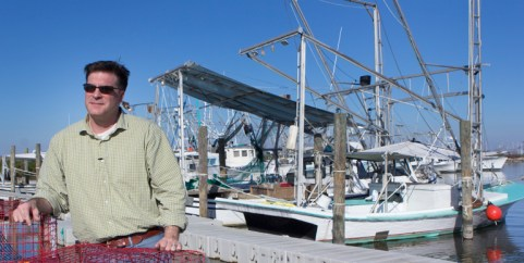 Ewell Smith, executive director of the Louisiana Seafood Promotion and Marketing Board. Photo: Ed Lallo/Louisiana Seafood News