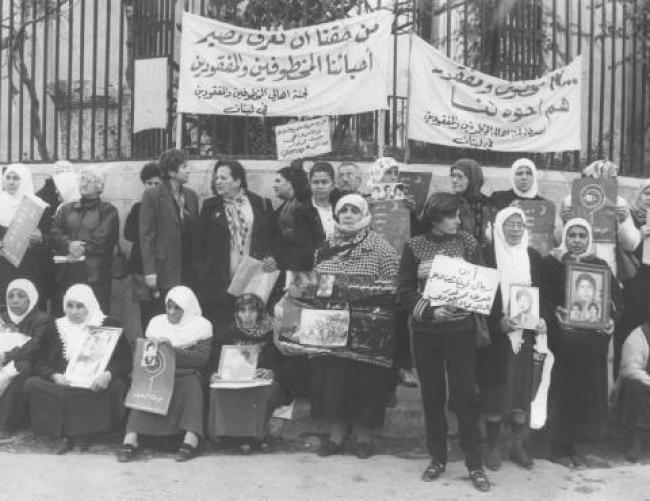 For years families of the disappeared have been staging protests | Source: http://dealingwiththepast.org/
