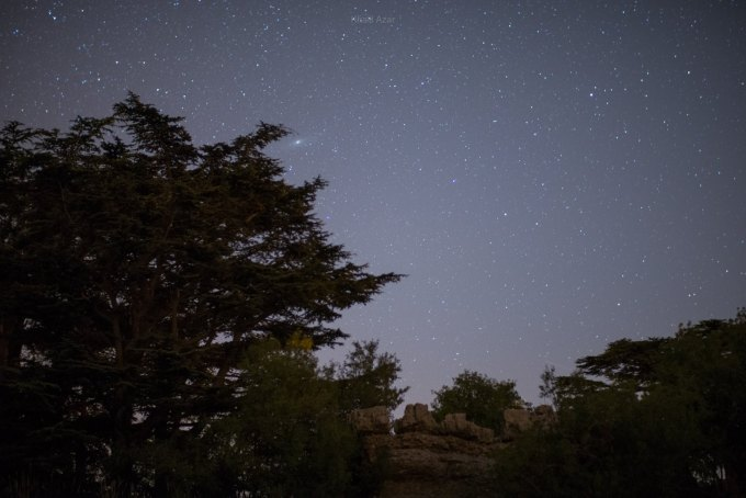 The night skies as seen from Tannourine | Source: Beirut Versus