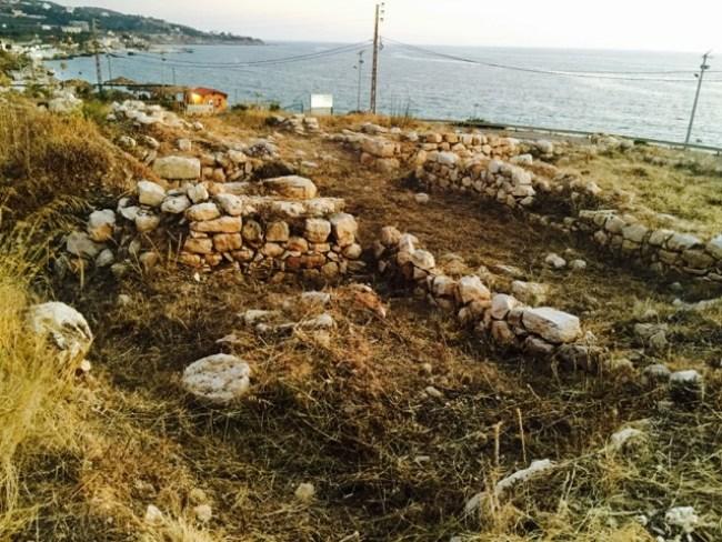 Kfarabida ruins | Source: BeirutReport/HabibBattah