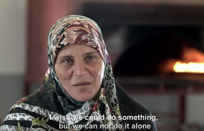 """I wish we could do something, but we cannot do it alone""  says Daad from the south Lebanon women cooperative. 