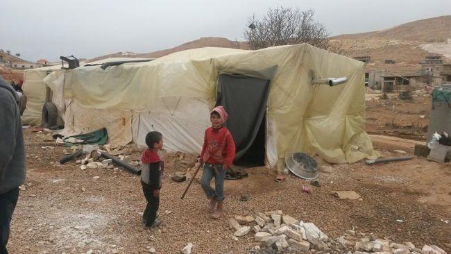 Informal tented settlement, Arsal, northeastern Lebanon | Newsroom Nomad