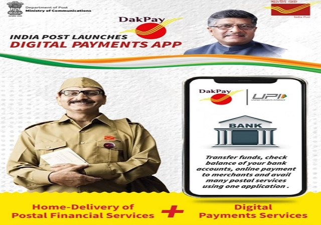 Transforming Banking to the last mile: 'DakPay' launched by India Post  Payments Bank