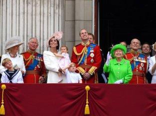 Королева Елизавета II Джордж Уильям
