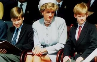 Самые важные мужчины в жизни Дианы всегда были принцы Уильям и Гарри