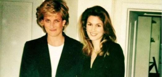 принцесса Диана и Синди Кроуфорд