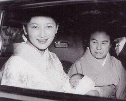 Кронпринцесса Митико и принц Нарухито, 1960 г