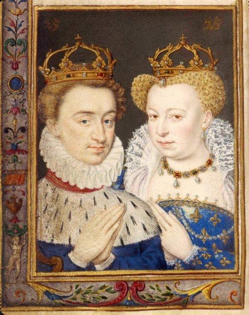 Генрих Наваррский и Маргарита Валуа (1572)