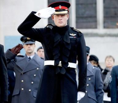 В ноябре 2014 года принц Гарри с гордостью отдал дань уважения на поле памяти Вестминстерского аббатства в Лондоне.
