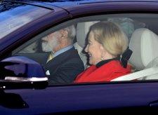 Двоюродный брат королевы принц Майкл и его жена принцесса Майкл Кентская