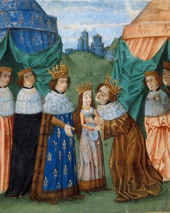 Первая встреча Ричарда II и Изабеллы