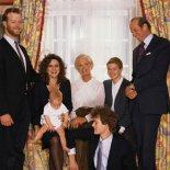 Старший сын Кентских с супругой и ребенком, герцогиня Кентская, дочь герцога Кентского, герцог Кентский и младший сын