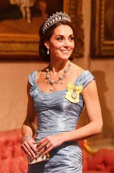 Кейт Миддлтон в Букингемском дворце