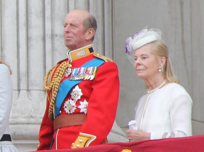 Герцог и герцогиня Кентские