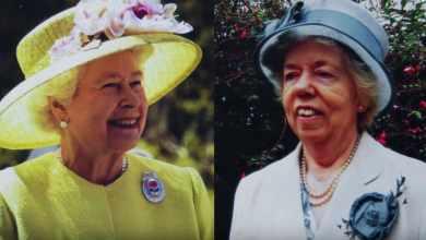 Photo of Элла Слэк более трех десятилетий была двойником королевы