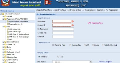 vat registration in Nepal