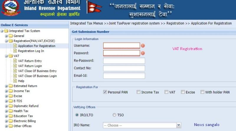 vat registration in Nepal
