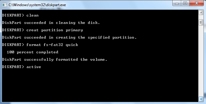 How to Bootable the USB/Flash Drive for Windows Installation: