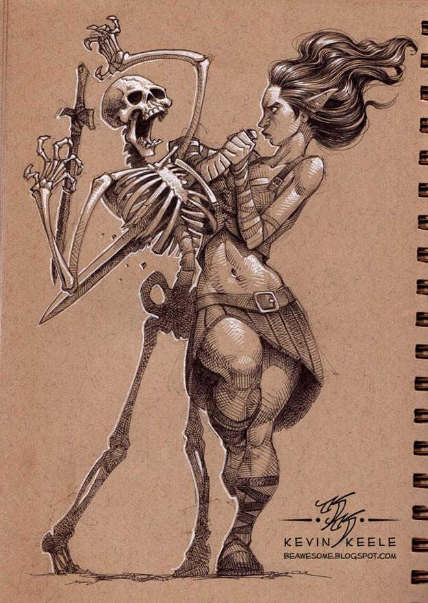 kevin-keele-sketchbook-drawings-5
